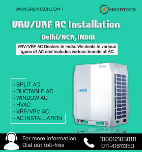 VRV/ VRF AC Installation Services in Delhi/NCR,India