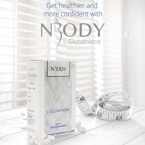 NBODY L-Glutathione with Caralluma Fimbriata and L-Carnitine L-Tartrate