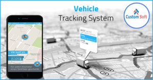 Vehicle tracking System developed by CustomSoft