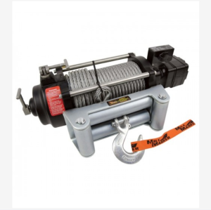 Mile Marker HI-Series 12 Volt DC Low-Pressure Hydraulic Winch_9000Lb Capacity_Galvanized Aircraft Ca