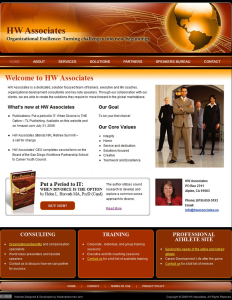 Custom Website for Consulting Firm