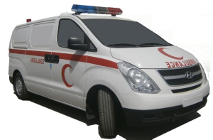 Toyota Hiace High Roof Ambulance