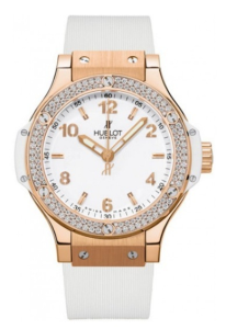 Big Bang Gold White Diamonds Womens Watch