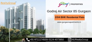 Godrej Air Gurgaon Price & Floor Plan in Gurgaon