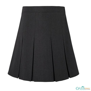 Missy Grey Box Pleat Skirt, School Uniform Suppliers