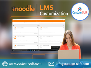 Moodle LMS Customization India by CustomSoft