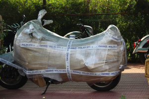 Hire Best Packers and Movers For Bike Shifting in Delhi