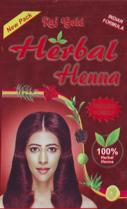 Raj gold Henna herbal brown