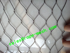 Stainless Steel Knotted Rope Mesh