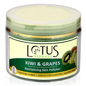 Lotus Herbals KIWI & GRAPES Revitalizing Skin Polisher