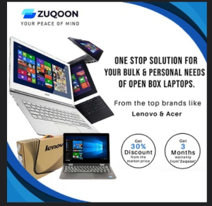 Open Box Laptops sale
