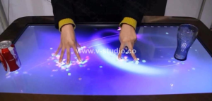 LCD multi touchscreen tables by V-Studio