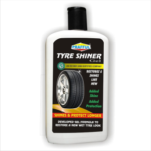 PRAFFUL TYRE SHINER GEL 500 ML