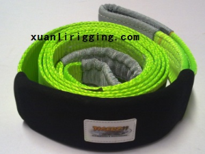 4wd snatch strap offroad recovery strap nylon tow strap