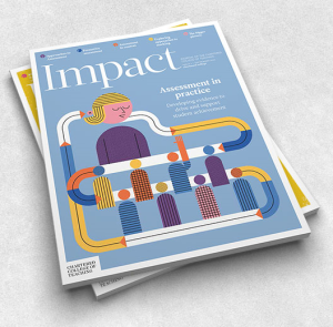 Cover design for Impact journal for the CCT