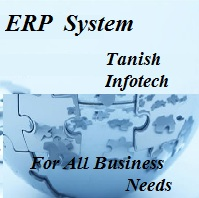 ERP Softwares are provided by Tanish Infotech