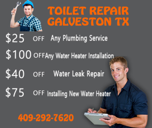 Toilet Repair Galveston TX