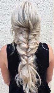 braid and styling by Taylor