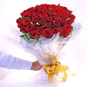 SIXTY RED ROSES