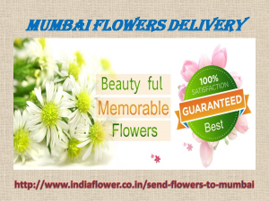 Mumbai Flowers Delivery