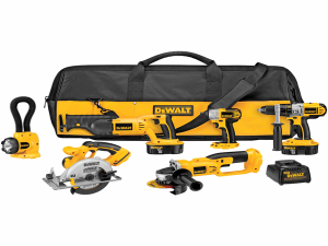 cheap drills and power tools for sale DeWalt DCK655X 18V XRP 6 Tool Combo Kit Impact Driver