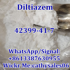 High Quality 99% Diltiazem CAS 42399-41-7 with Best Price