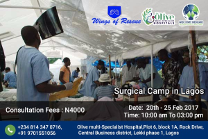 cancer surgical camp in Lagos