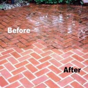 brick pavers cleaning