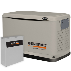 Generac Guardian 14kW Standby Generator System (200A Service Disconnect + AC Shedding)