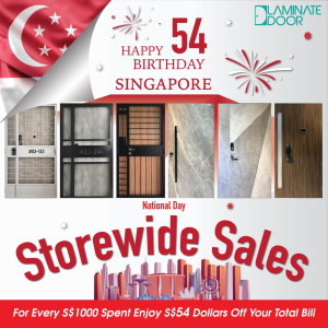 Singapore 54th national day store wide sale