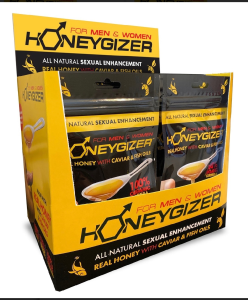 HONEYGIZER ROYAL HONEY w/GUARANA-12 Sachets
