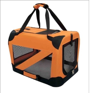 Vista-View Collapsible Travel Soft Folding Pet Dog Crate