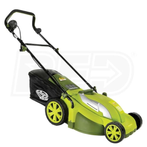 "Mow Joe (17"") 13-Amp 2-In-1 Electric Push Lawn Mower"