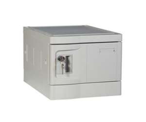 ABS Plastic Office Locker, Smart Designs, Strong Lockset