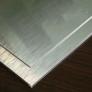 Silver Brushed Alucobond ACM 2mm 3mm PVDF Aluminum Composite Panel