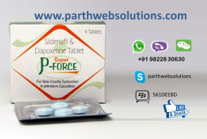 Super P-Force Tablets (Sildenafil & Dapoxetine)