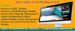 Online Travel Booking Management System