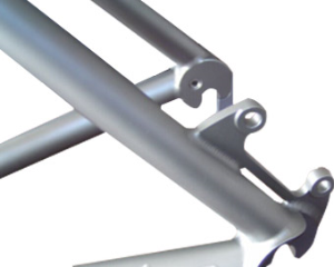 Titanium Bicycle Part