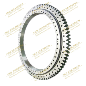 Robot slewing ring bearing