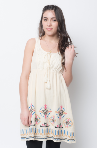 Final Sale on  embroidered lace tunic