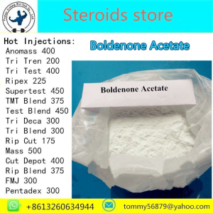 Boldenone Acetate steroid powder for muscle building
