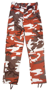 Red Camo Army Pants - Poly/Cotton by Rothco
