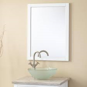 Everett Vanity Mirror White