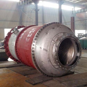 Copper Tube Bundle Shell Tube Heat Exchanger