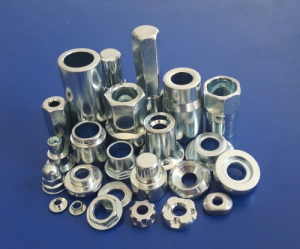 Various thread forming and rolling machining parts