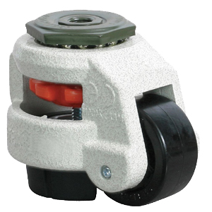 leveling casters with bolt hole