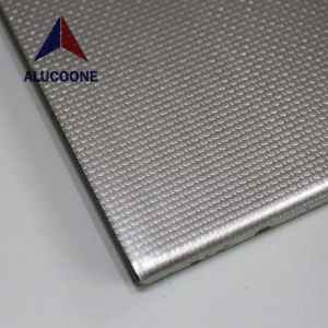 ALUCOONE Embossed Mirror Hairline Brush Brushed Emboss Polished Stainless Steel Composite Panel