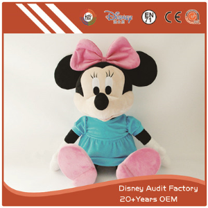 Plush Minnie Plush Doll 100% PP Cotton Embroidery Pattern