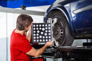Wheel Alignment Services in Dubai