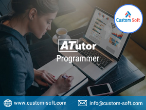 Atutor LMS Programmer India by CustomSoft